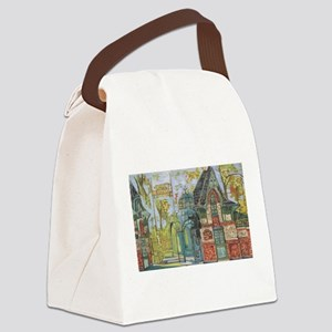 Philadelphia Zoo Entrance October Canvas Lunch Bag